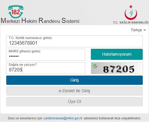 MHRS-Hastane-Randevu